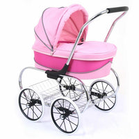 Valco Baby Princess Doll Stroller - Hot Pink - Grace Baby
