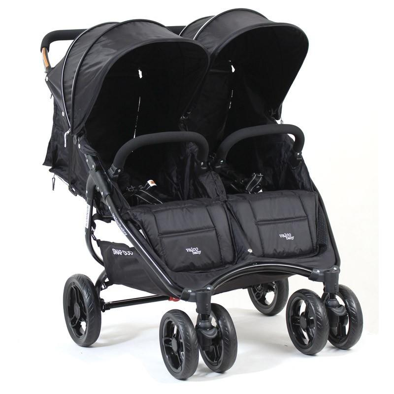 Valco Baby Snap Duo Stroller - Black Beauty
