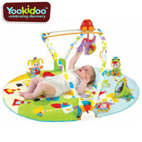 Yookidoo Gymotion Baby Activity Gym Playland Play Mat - Grace Baby