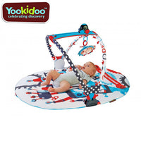 Yookidoo Gymotion Robo Baby Activity Gym Playland Play Mat