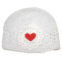 Crochet Heart Hat