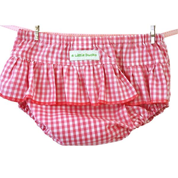 Pink Gingham Bloomer