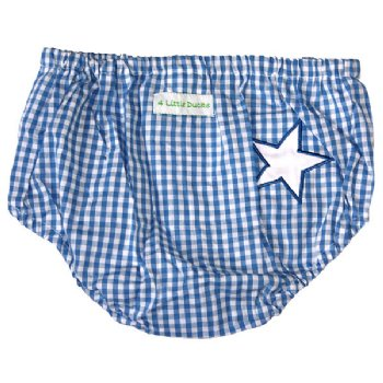 Nappy Pants Blue Gingham