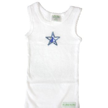 Singlet with car Applique