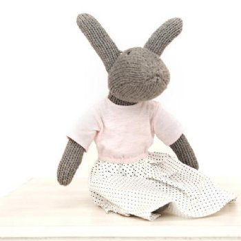 Hand Knitted 'Matilda' Rabbit