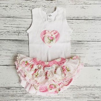 Sunshine Roses Bloomer Set