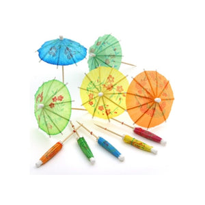100 Cocktail Parasols