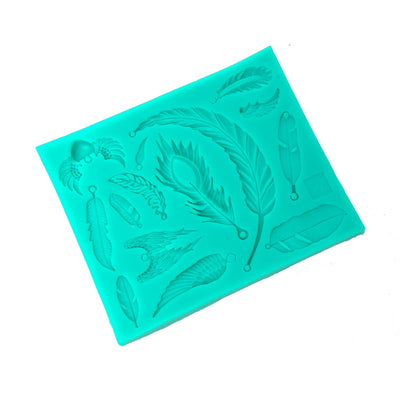 Silicone Mould - Feather and Wings