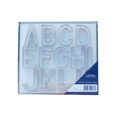 Medium Loyal Alphabet Cutters - 65mm High