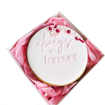 NEW Reverse Cookie Embosser - always + Forever