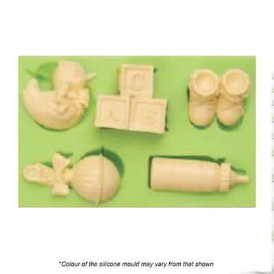 Silicone Mould - Baby Shower