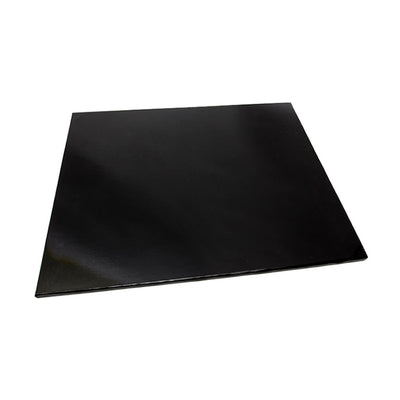 Black MDF Cake Board - Square- CLICK TO VIEW SIZES