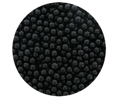 Black Sugar Pearls- 4mm-100g