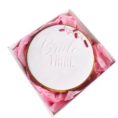 NEW Reverse Cookie Embosser - Bride Tribe