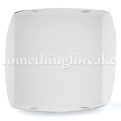 "Cake Box 14 x 14 x 4""- Includes Separate Lid"