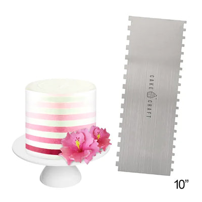Cake Craft - Decorating Comb Scraper- Thin Stripes