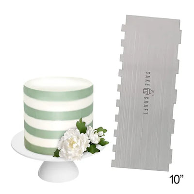Cake Craft - Decorating Comb Scraper- Thick Stripes