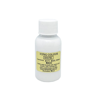 Carolines Icing Colour- WHITE