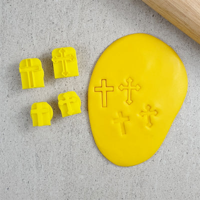 Cookie Embosser Set- Crosses