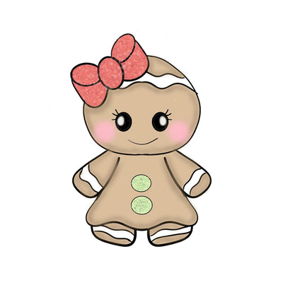 Cute Gingerbread Girl