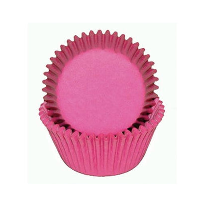 Large Cupcake papers - Hot Pink
