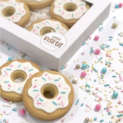 Little Biskut - Cookie Cutter and Embosser Set - Donut set