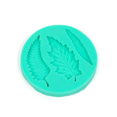 Silicone Mould - Fern Leaves