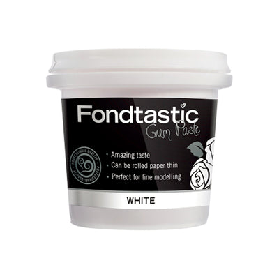 Fondtastic Ready To Use Gum Paste White - 225g
