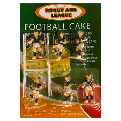 Footy Team Cake Toppers