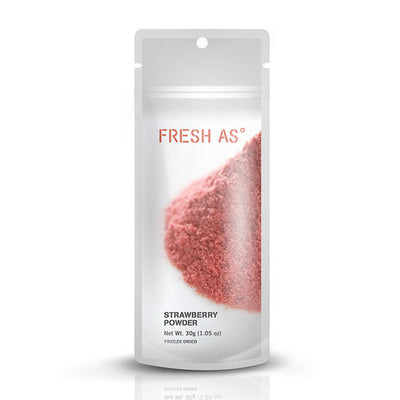 Fresh As Freeze Dried Powder - Strawberry- 30g