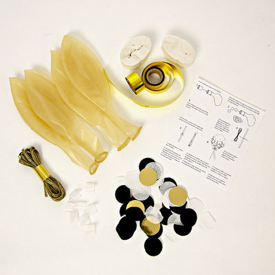 Meri Meri Confetti Balloon Kit - Shine 8 Set