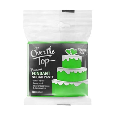 Over the Top Fondant 250g -  Green