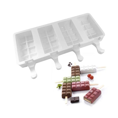 Silicone Block Shaped Popsicle Mould