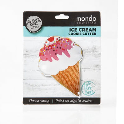 Mondo Icecream cookie cutter