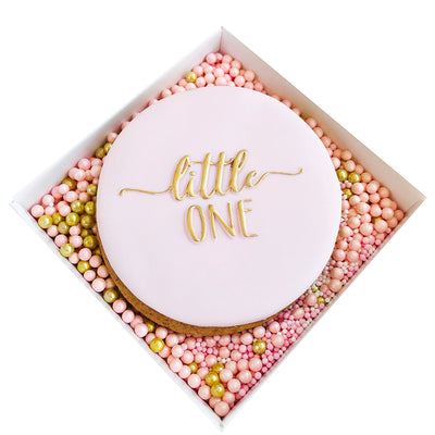NEW Reverse Cookie Embosser - Little One