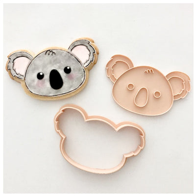 Little Biskut - Cookie Cutter and Embosser Set - Cute Koala