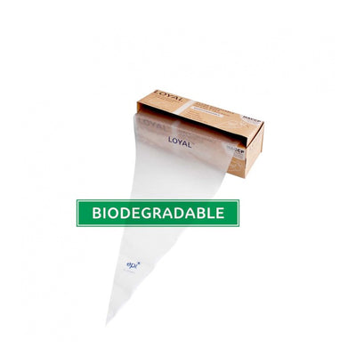 Loyal Biodegradable Disposable Piping Bag - 10 x 18""