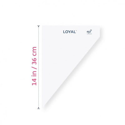 Loyal Tipless Disposable Piping Bags - Biodegradable- 14inch