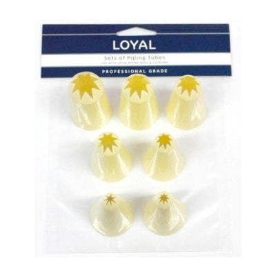 Loyal Thermo Piping Tubes Set - Star Tips