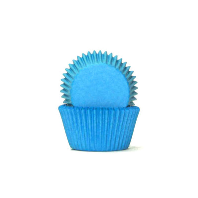 Mini Cupcake Papers - Blue