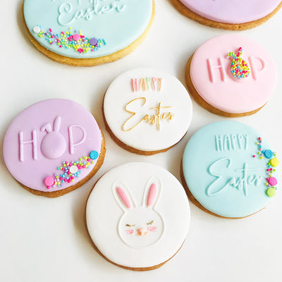 NEW Reverse Cookie Embosser - Mini Easter Set