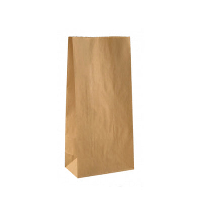 Paper Lolly Bag - Natural - 10 Pack