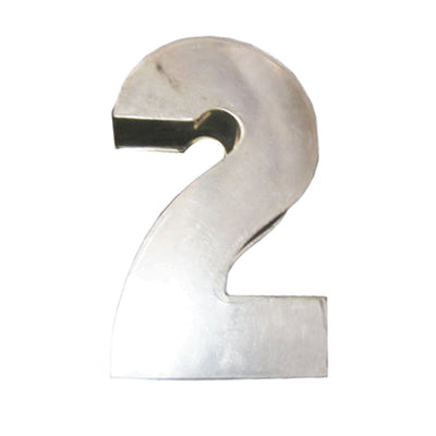 For Hire Cake Tin - Large Block Numbers