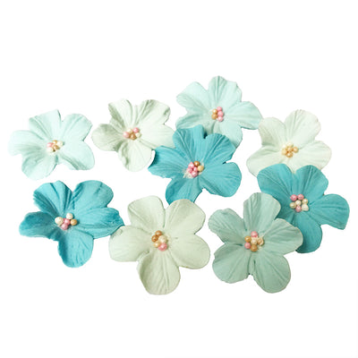 Sugar Blossoms - 12 pack- Blue Ombre