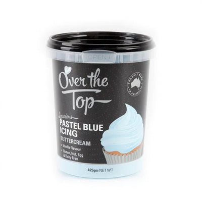 Over the top Buttercream 425g - Pale Blue