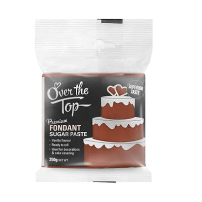 Over the Top Fondant 250g - Brown