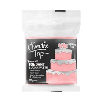 Over the Top Fondant 250g - Rose Pink