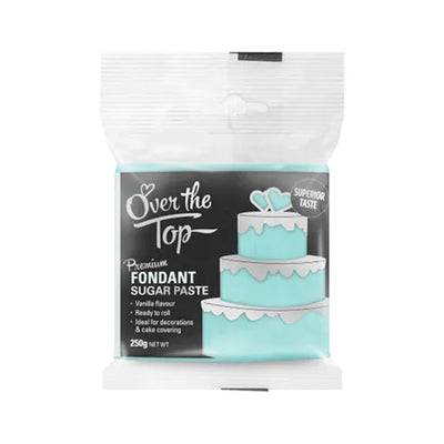 Over the Top Fondant 250g -  Sky Blue