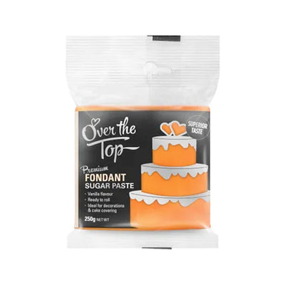 Over the Top Fondant 250g - Orange