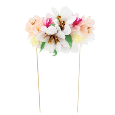 Meri Meri Flower Bouquet Cake Topper